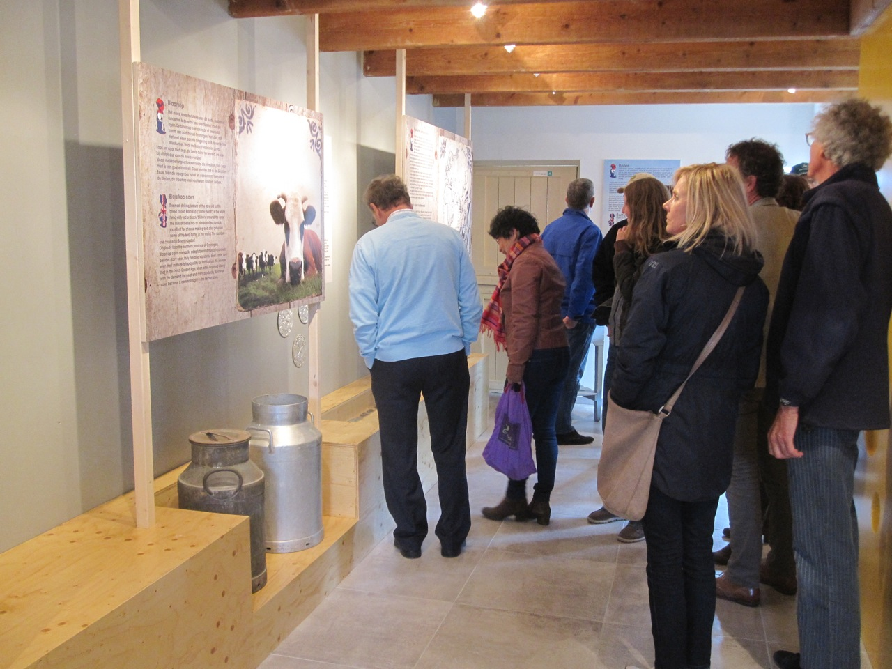 inrichting museum opening tentoonstelling