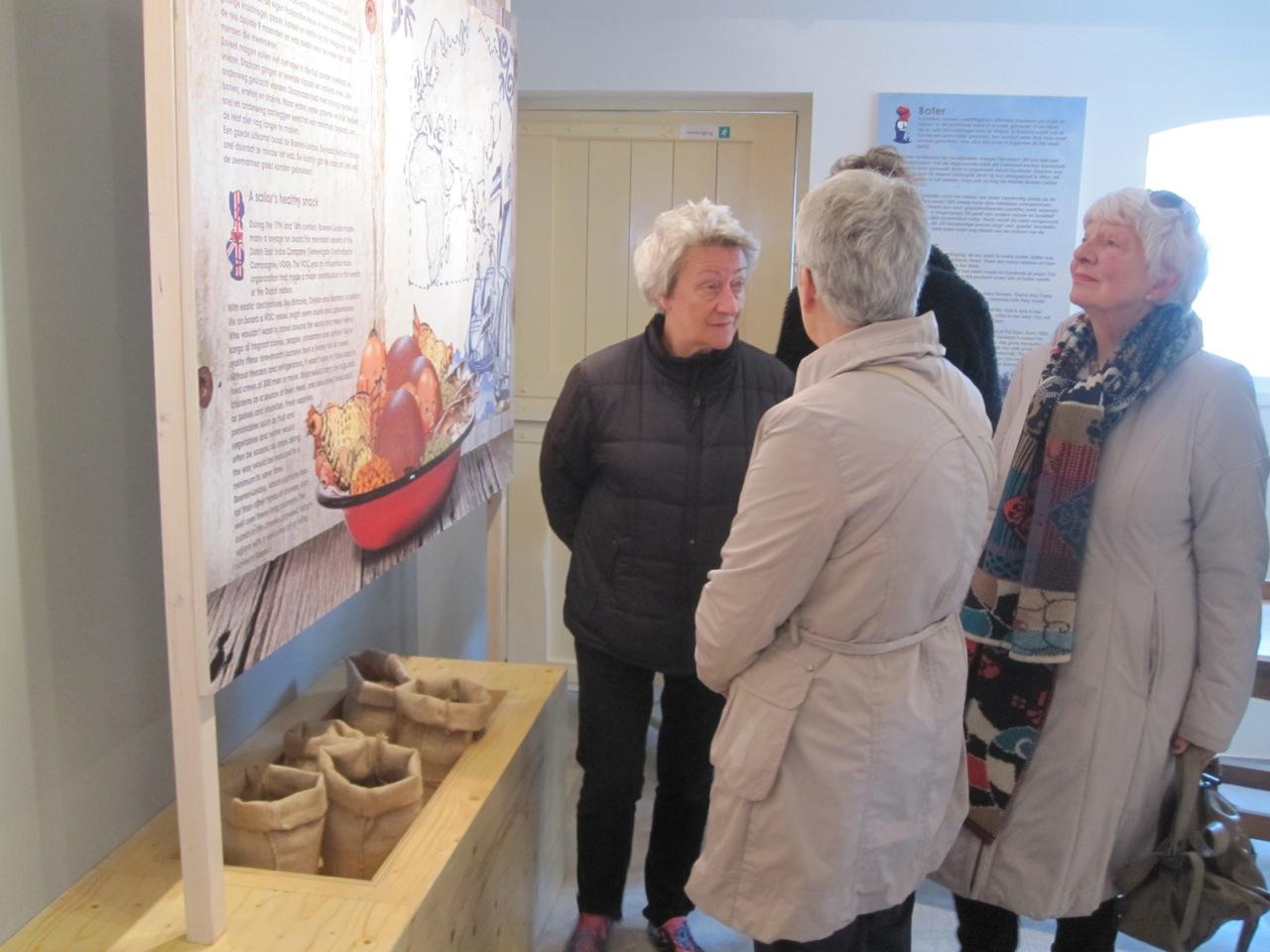 educatief uitleg in ontwerp kaasmuseum
