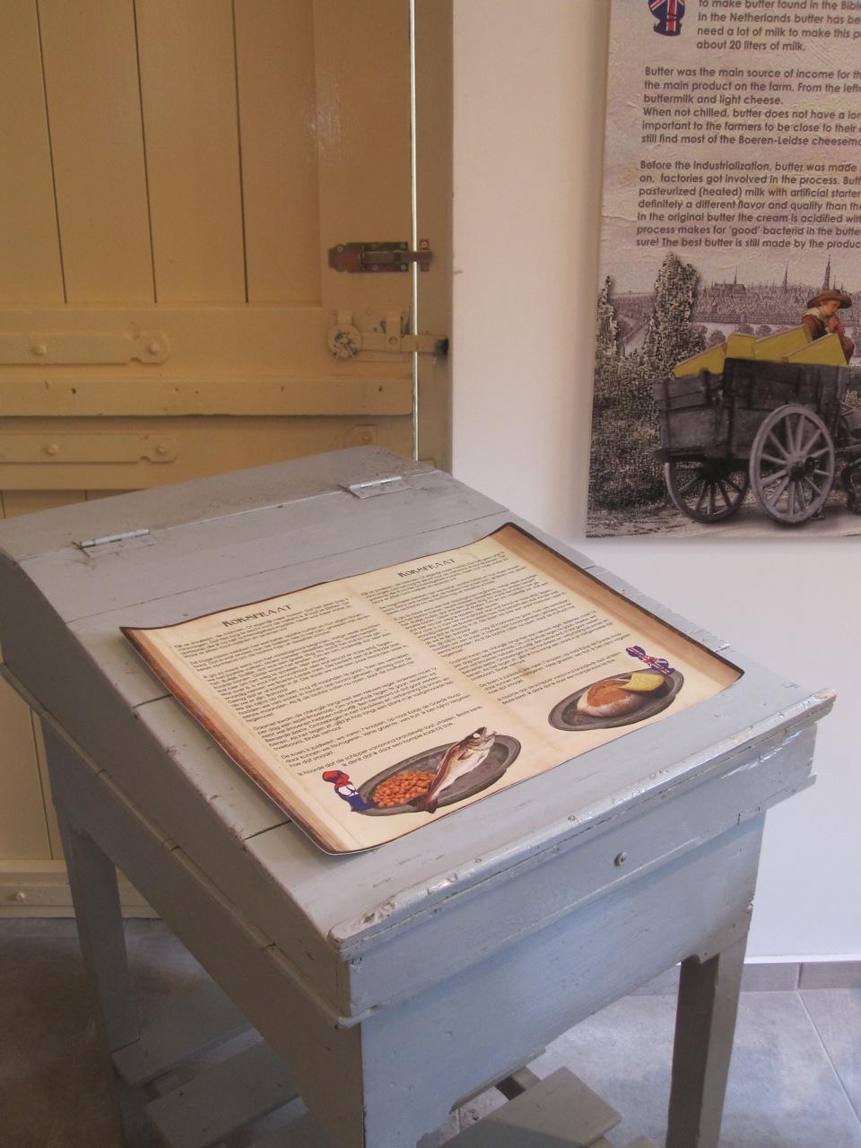 inrichting tentoonstelling kaasmuseum