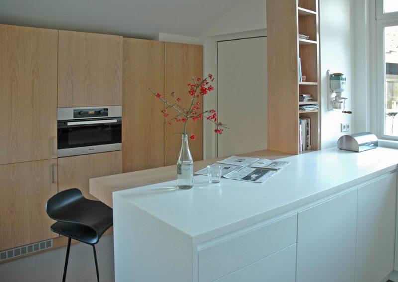 Kleine keuken in rijksmonument